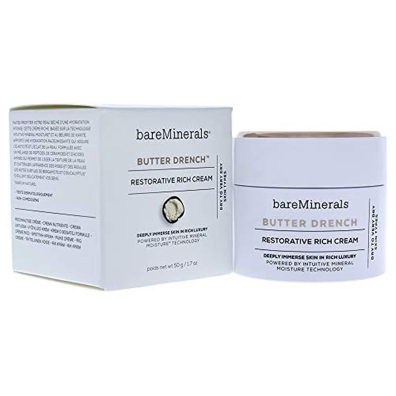 周術期ジュース依存するベアミネラル Butter Drench Restorative Rich Cream - Dry To Very Dry Skin Types 50g/1.7oz並行輸入品