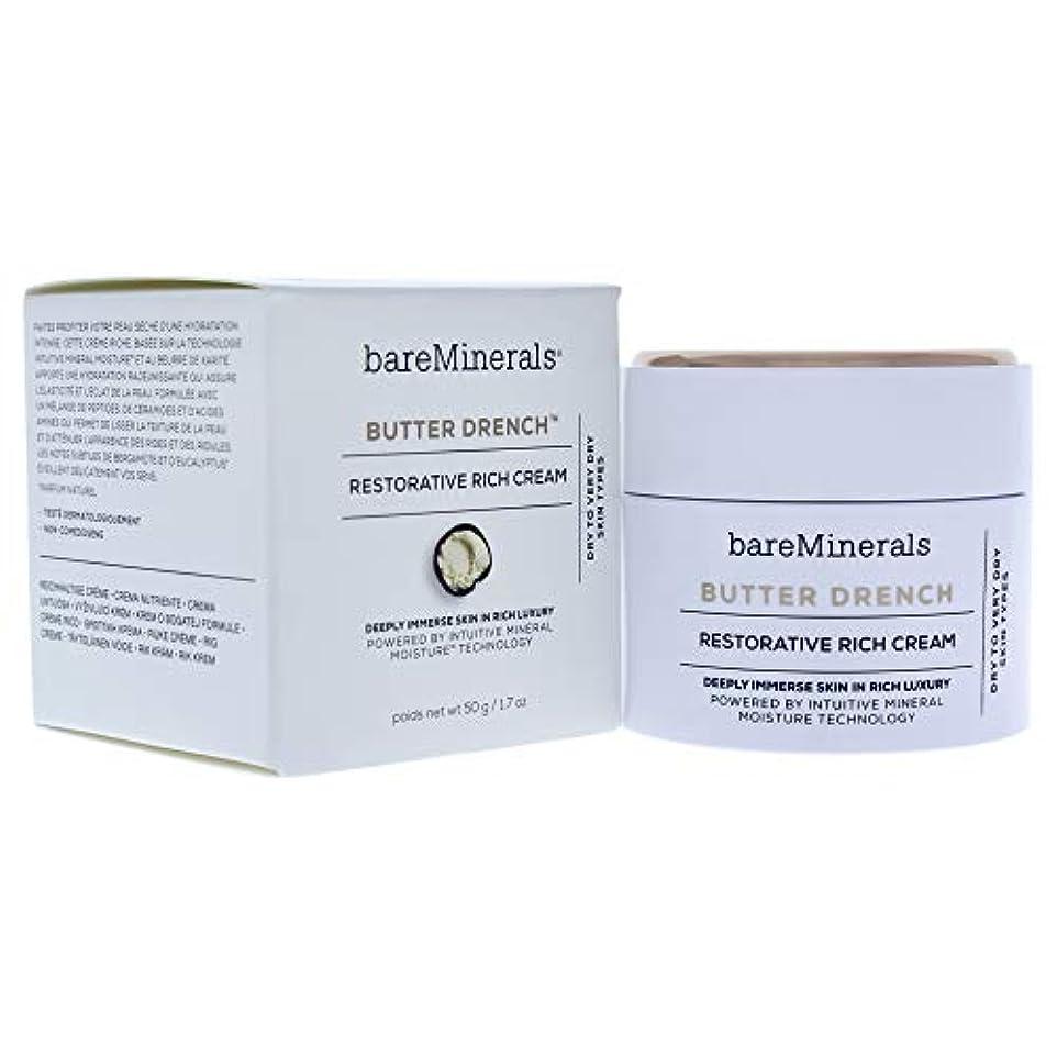 理解するユーザー自信があるベアミネラル Butter Drench Restorative Rich Cream - Dry To Very Dry Skin Types 50g/1.7oz並行輸入品