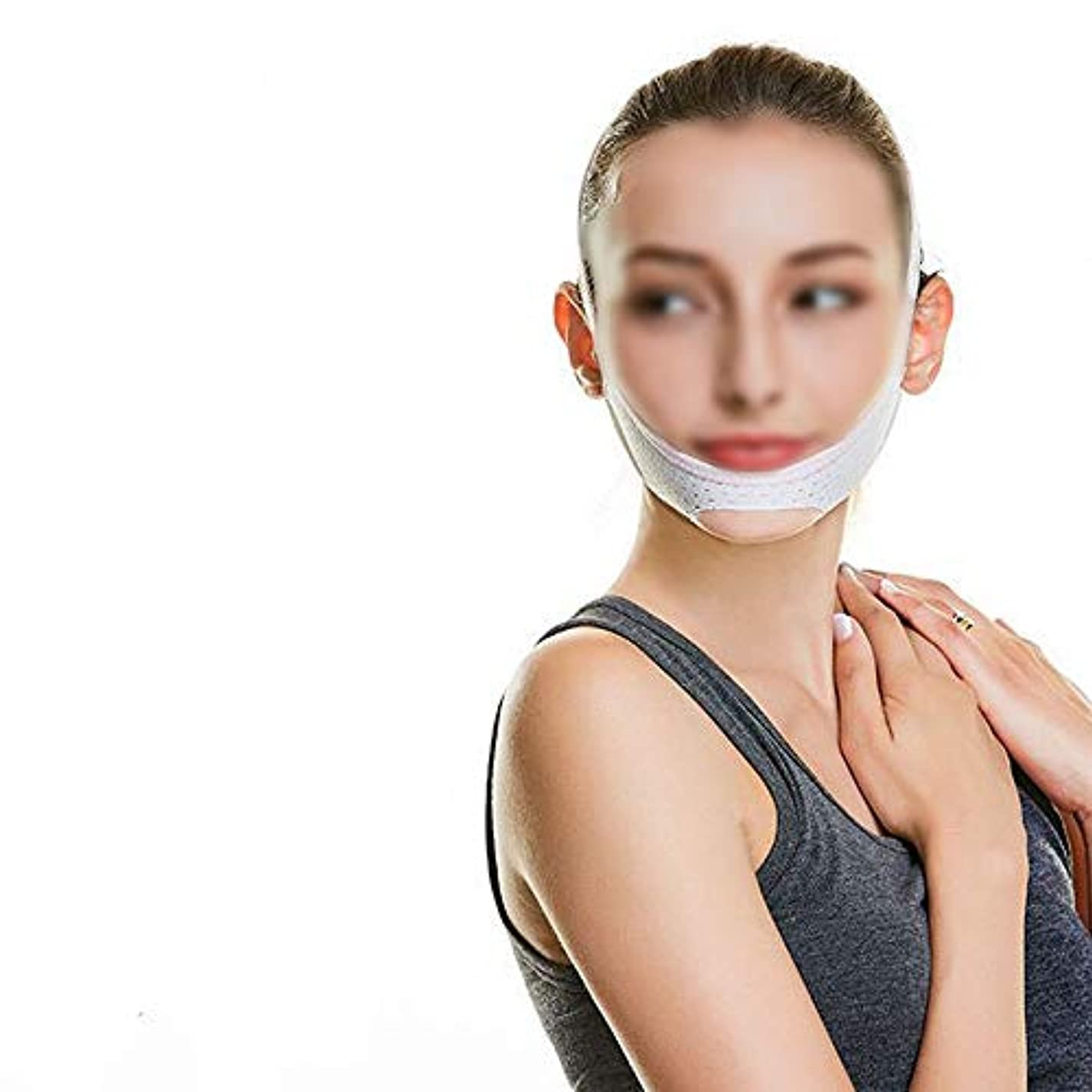 TLMY フェイスリフティング包帯回復マスクあごVフェイスリフト引き締め睡眠薄い顔アーティファクト 顔用整形マスク