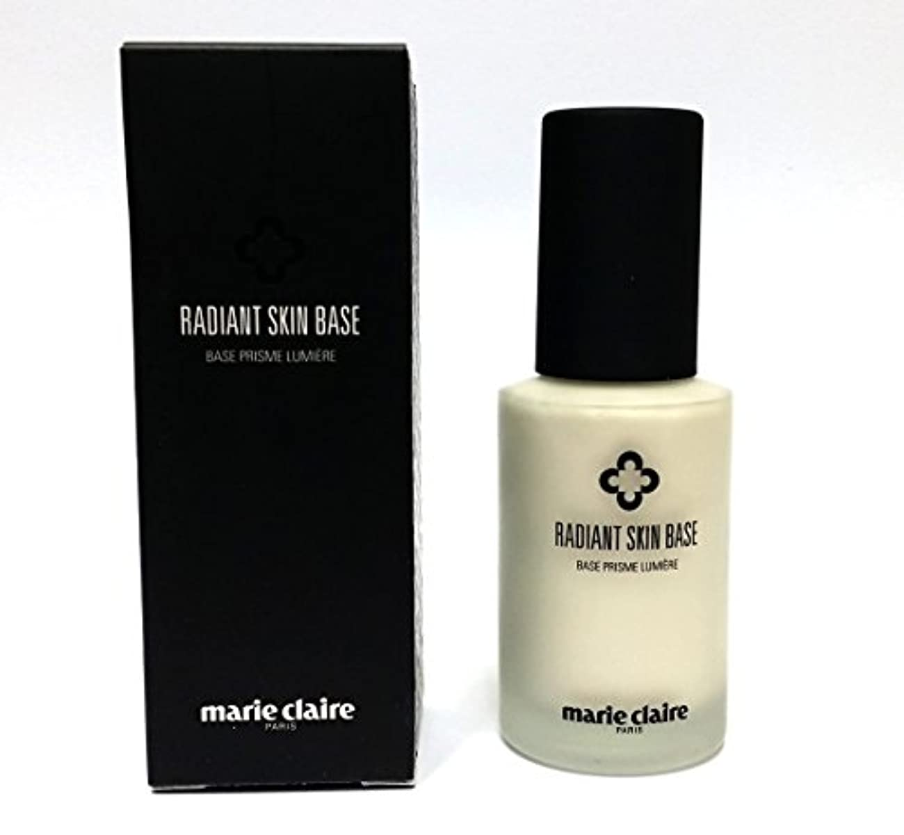 大惨事吐く時代[Marie Claire] ラディアントスキンベース30ml / Radiant Skin Base 30ml / 皮膚の傷はカバー / skin blemishes cover / ソフト、水分、絹のような / soft...
