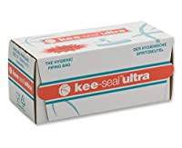 DecoPac Kee-Seal Ultra Disposable Pastry Bags, 12-Inch, Clear by DecoPac