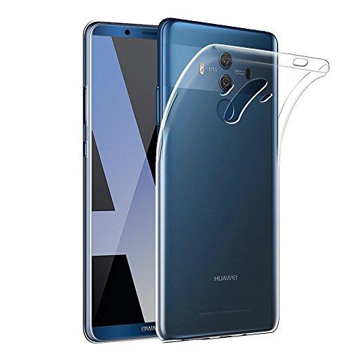 Gosento Huawei Mate 10 Pro ケース 高品質 クリスタル クリア 透明 TPU素材 Mate10 Pro 保護カバー (クリア)