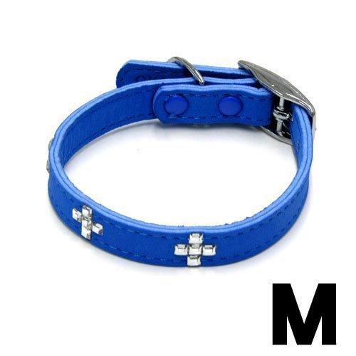 岡野 ヌーバストーン カラー クロス M ブルー