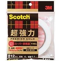(業務用5セット)スリーエム 3M プレミアゴールドスーパー SPS-12 12mm×4m 〈簡易梱包