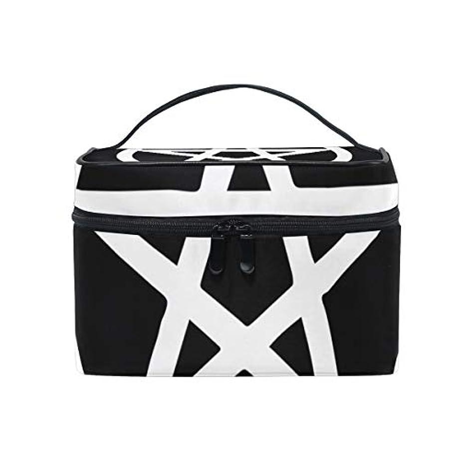 支払い放棄する似ているメイクボックス ウィザード、五芒星柄 化粧ポーチ 化粧品 化粧道具 小物入れ メイクブラシバッグ 大容量 旅行用 収納ケース