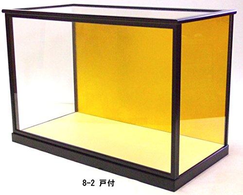 [해외]유리 케이스 인형 케이스 8-2 ?付 내 치수 폭 60cm 깊이 29cm 높이 40cm/Glass Case Doll Case 8-2 Inside of Door Front Entrance 60cm Length 29cm Height 40cm