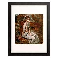 ピエール=オーギュスト・ルノワール Pierre-Auguste Renoir 「Petit nu (Kleiner Akt), 1885.」 額装アート作品