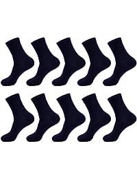 KOUTEI メンズ 靴下 ビジネスソックス 天然 竹繊維 抗菌 防臭 通気性抜群 リブソックス 10足セット バンブーファブリック