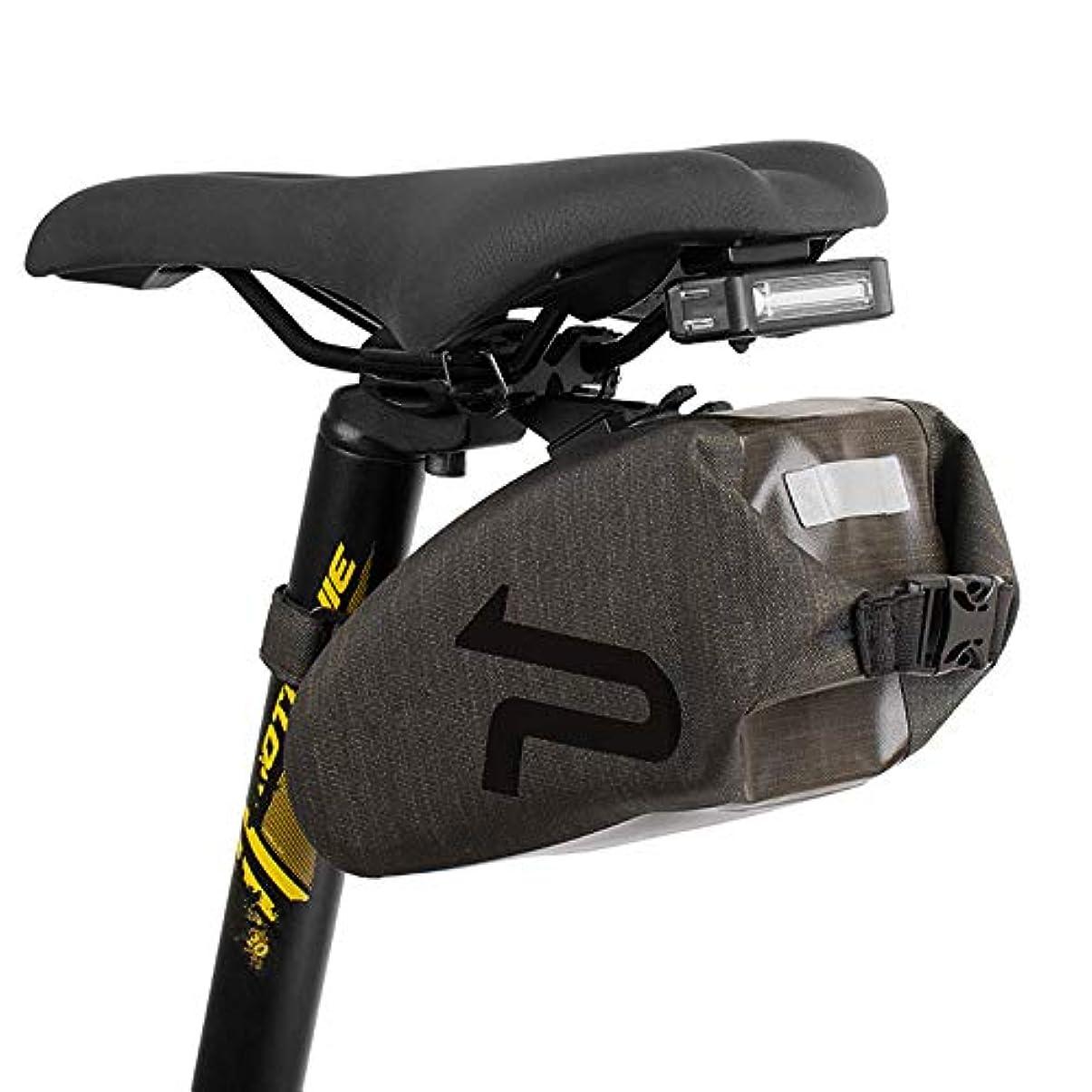 顧問脅かす薬自転車バッグ 自転車防水テールバッグ1つのハードシェルサドルバッグクッションバッグ れ付き マウンテン/ロード/MTBバイク