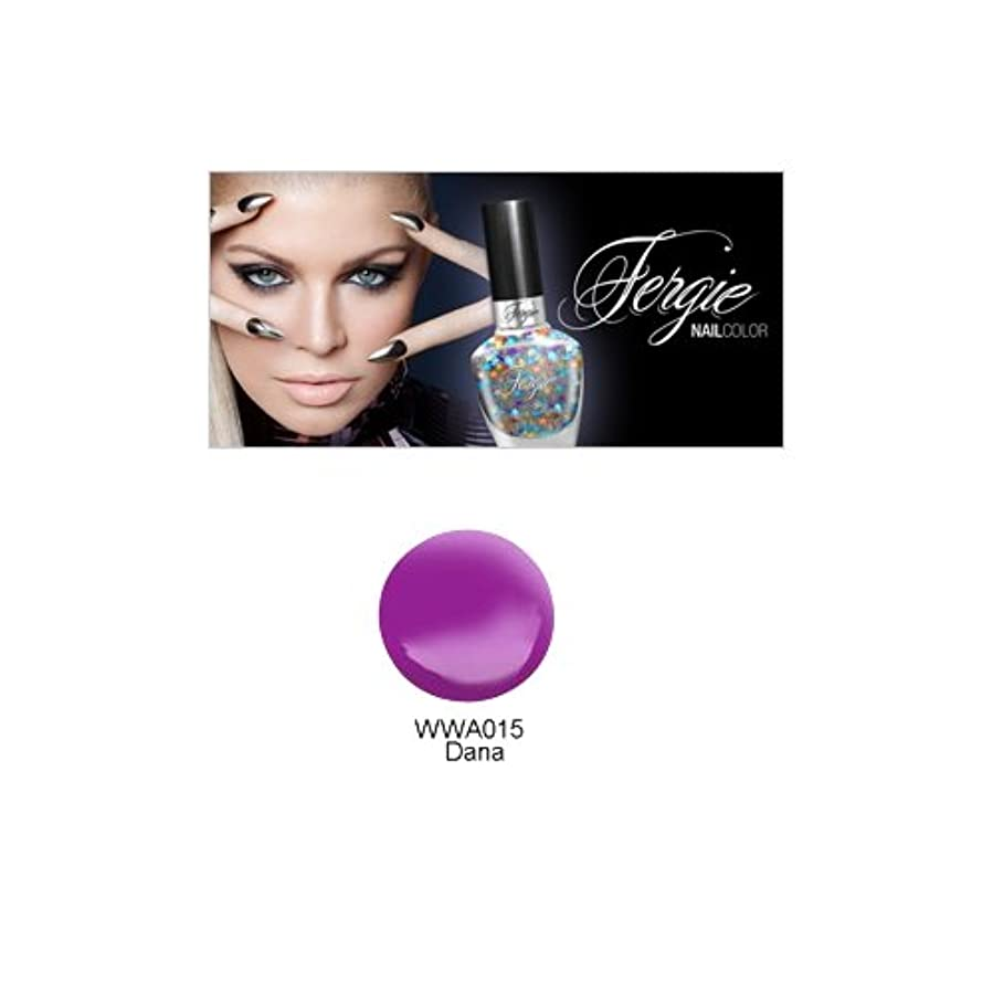 ブラシ図生産性(3 Pack) Wet N Wild FERGIE NAIL COLOR - Dana (DC) (並行輸入品)