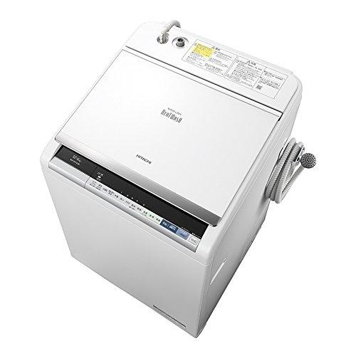 日立 タテ型洗濯乾燥機 ビートウォッシュ 12kg ホワイト BW-DX120B W