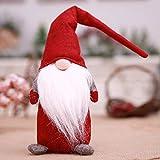 BEE&BLUE ぬいぐるみ クリスマス 北欧 ハンドメイド 置物 クリスマス 雑貨 インテリア プレゼント 顔なし 小さい足 白いひげ