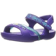 crocs Girls Lina Frozen Sandal Ultraviolet EU28.5