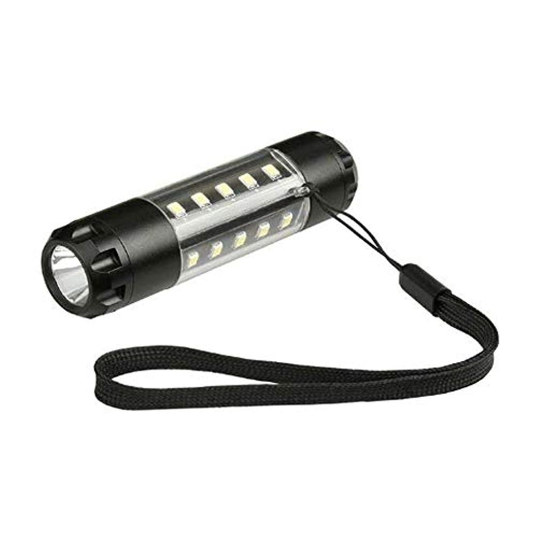 換気熱心感情のMR 作業灯 Lサイズ ライト 懐中電灯 6モード 電池式 ランプ 信号 照明 アウトドア 便利 アイテム HORIZON-L