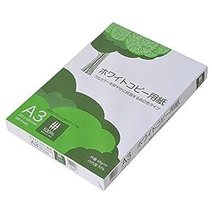 コピー用紙 A3 ホワイトコピー用紙 高白色 紙厚0.09mm 1500枚(500×3) ATK902