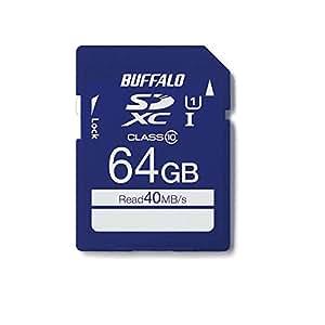 BUFFALO UHS-I Class1 SDカード 64GB RSDC-064GU1S