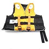 救命胴衣 ライフジャケット フローティングベスト 子供、大人用 漂流 釣り (オレンジ, M)