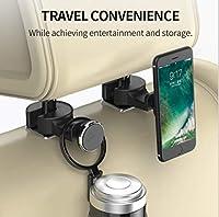Leeco Le 2スマートフォン/タブレット用ヘッドレスト付きショットケースカーホルダー
