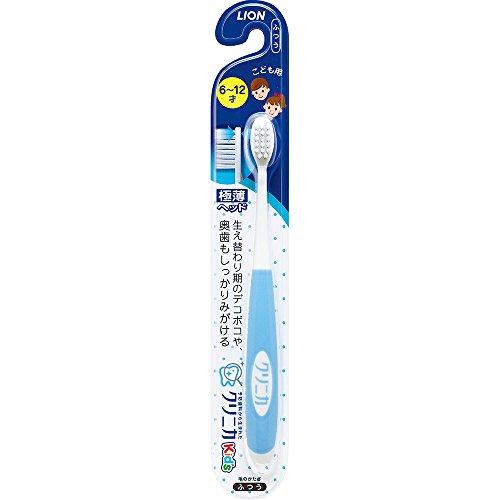 クリニカKid's ハブラシ 6-12才用 1本(ブルー・ピンクから色はおまかせ)