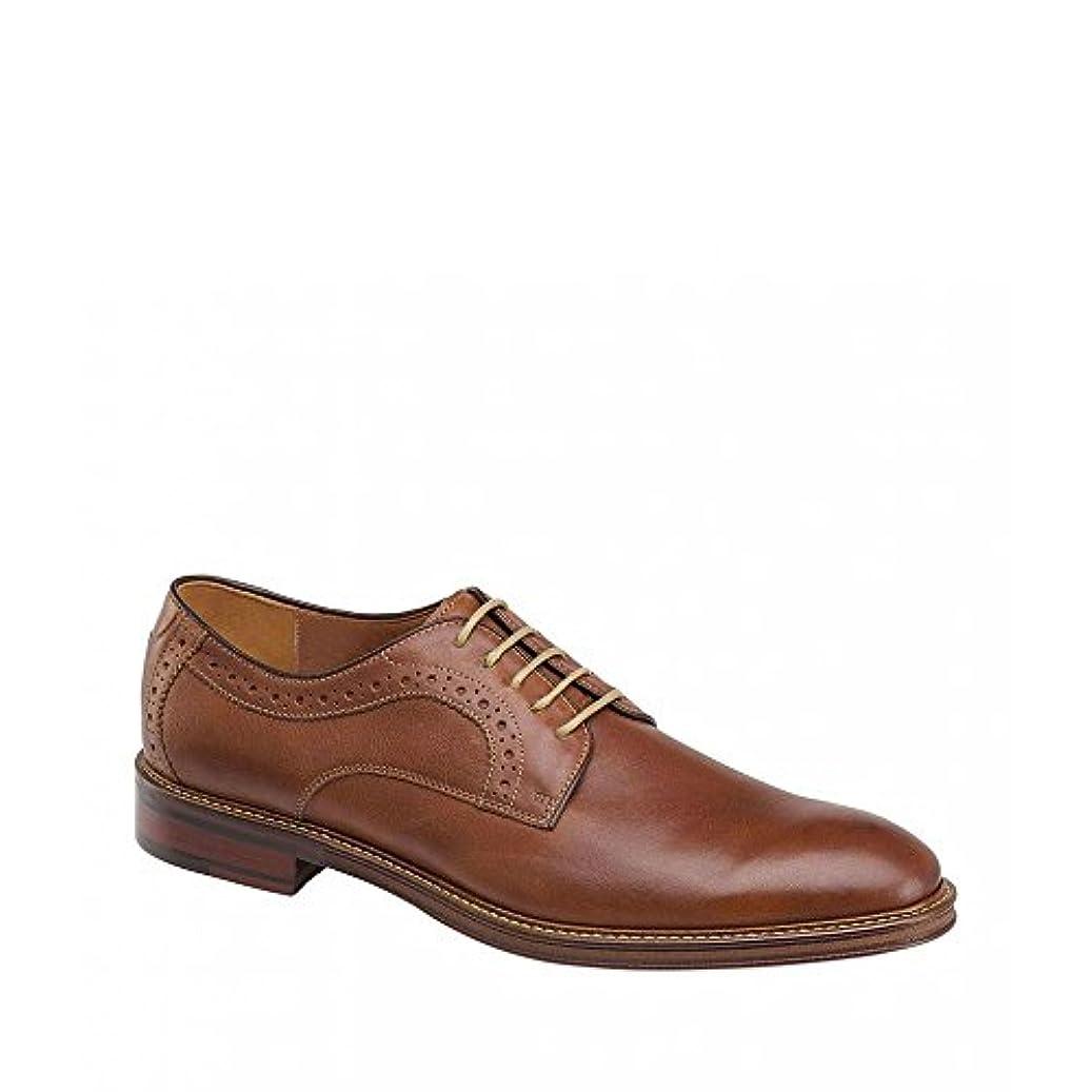 脇にフック感謝している(ジョンストン&マーフィー) Johnston & Murphy メンズ シューズ?靴 革靴?ビジネスシューズ Warner Plain Toe Oxfords [並行輸入品]