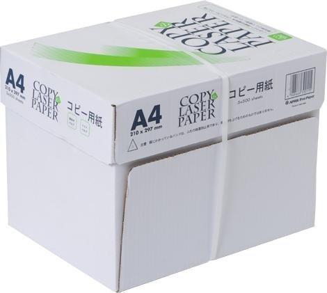 コピー&レーザー用紙 A4 高白色 2500枚(500×5)...