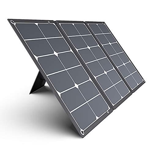 Jackery SolarSaga 60 ソーラーパネル 60W ソーラーチャージャー 折りたたみ式 DC出力 DCポータブル電源充電器 USB出力 スマホやタブレット 充電可能 高変換効率 超薄型 軽量 コンパクト 単結晶 防災 防水 (60W 18V 3.3A) Jackery ポータブル電源 240 用 24ヶ月保証