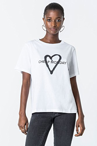 (チープマンデイ) CHEAP MONDAY Breeze tee Love logo 0442244-R