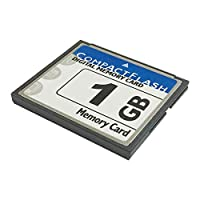 Bodawei Original 1GB CompactFlash Memory Card High Speed (TS1GCF133) Industrial (CF 1 GB) Compact Flash Card for Canon Camera CARDs [並行輸入品]