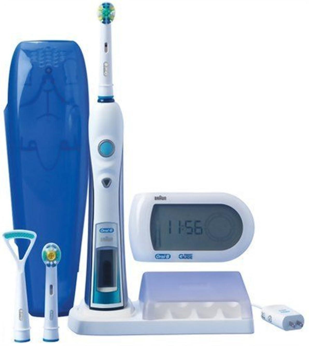 ヘビセントナースブラウン オーラルB 電動歯ブラシ 多機能ハイグレードモデル 歯磨きナビ付 D325365X