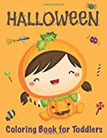Halloween Coloring Book for Toddlers