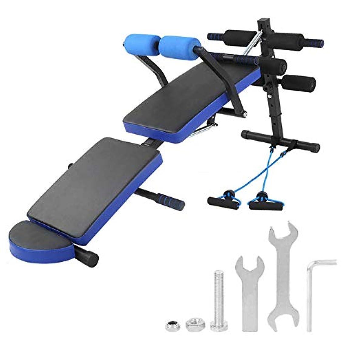 パートナーバイオレット南多機能ダンベルスツールフィットネス椅子折りたたみ腹部仰臥位ボード腹筋運動ウェイトベンチワークアウトステーション腹筋ベンチ