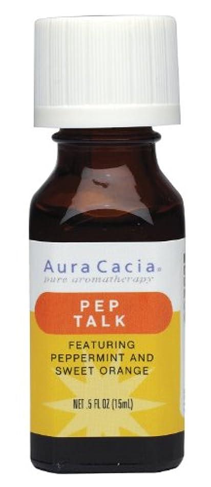 マガジン話をするサイバースペースAura Cacia Pep Talk Essential Solutions 15 ml