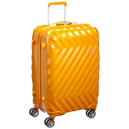 [アメリカンツーリスター] AmericanTourister スーツケース ZAVIS ゼイビス スピナー67 65L 3.5kg I25*26002 26 (サンセットイエロー)