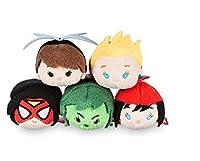 "Disney–Marvel 's女性の電源Mini Mini "" Tsum Tsum "" Plushコレクションセットof 5"