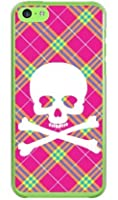 SECOND SKIN スカルパンク ピンク (クリア) / for iPhone 5c/au AAPI5C-PCCL-201-Y218