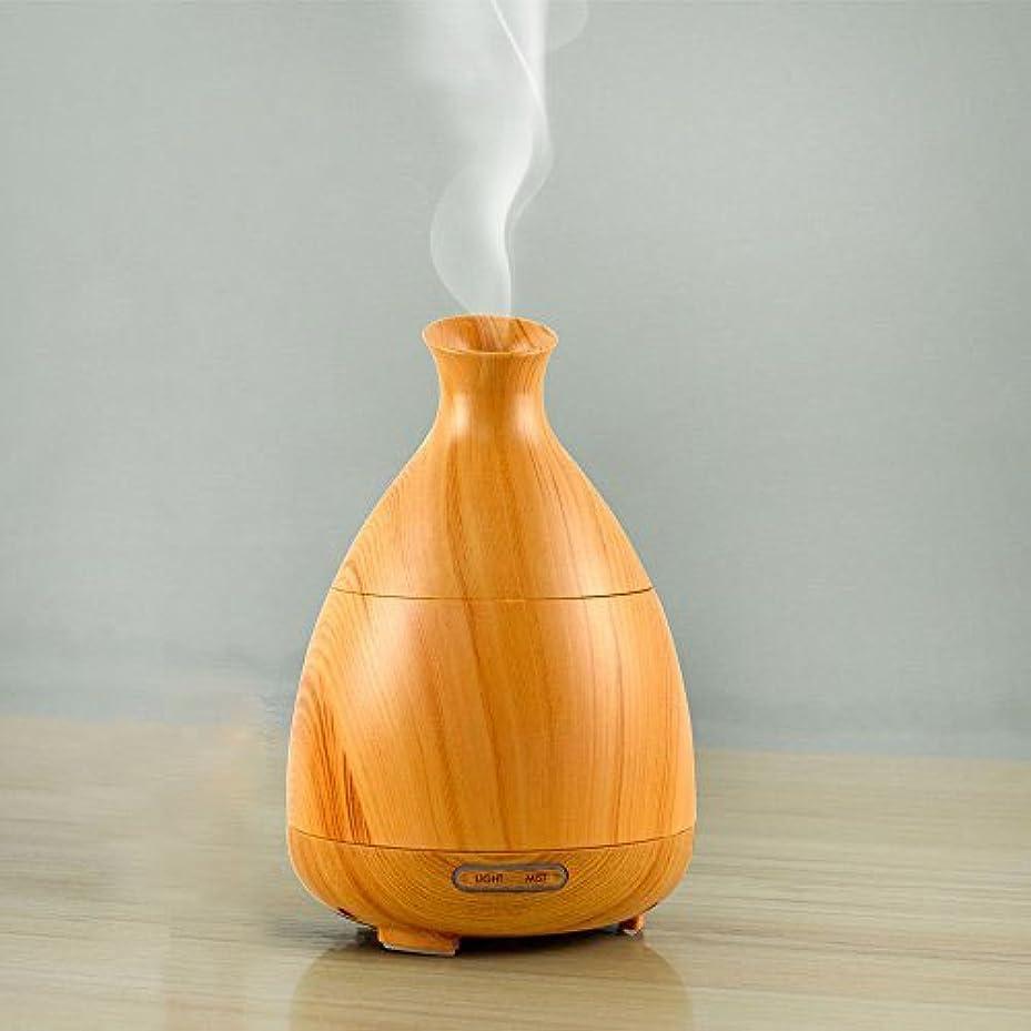 咲くむちゃくちゃアナログアロマディフューザー アロマ加湿器 7色LED変換 タイマー付き ムードランプ 空焚き防止 100ml