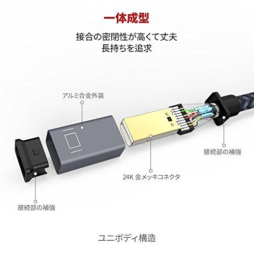 『Mini DisplayPort→HDMI 変換 ケーブル iVANKY【フルHD1080P対応/2M/保証付き】 Surface Pro/Dock, Mac, MacBook Air/Pro, iMac, ディスプレイ, AV アダプタ対応 Thunderbolt 2 to HDMI 耐久変換ケーブル Mini DP ミニディスプレイポート サンダーボルト』の2枚目の画像