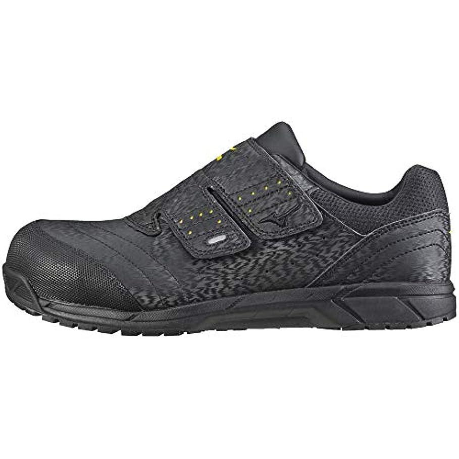 絶縁するフェリーデンプシー[ミズノ] 安全靴 オールマイティ AS 軽量 静電気帯電防止 ベルト JSAA?普通作業用(A種)