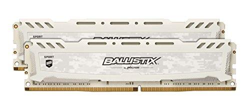 『Crucial [Micron製] DDR4 デスク用メモリー 8GBx2 BallistixSport LT ( 2400MT/s / PC4-19200 / CL16 / 288pin / DR x8 / Unbuffered DIMM ) 永久保証 BLS2K8G4D240FSC』のトップ画像
