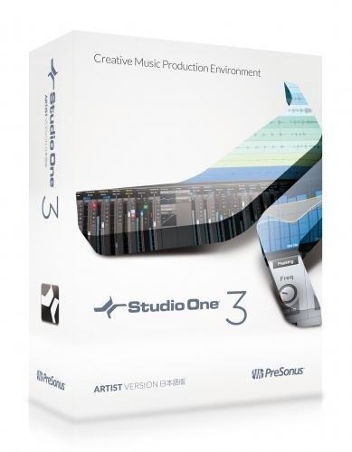 PreSonus プリソーナス 音楽制作ソフト Studio One 3 Artist (Download edition)