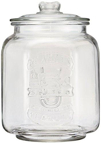DULTON(ダルトン) クッキージャー CH00-H05 本体:ガラス パッキン:PE 中国 AZY0801