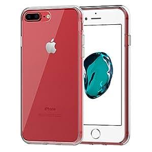 AVIDET iPhone 7 Plus ケース 衝撃吸収バンパー アンチスクラッチ ソフト TPU ケース (クリア)