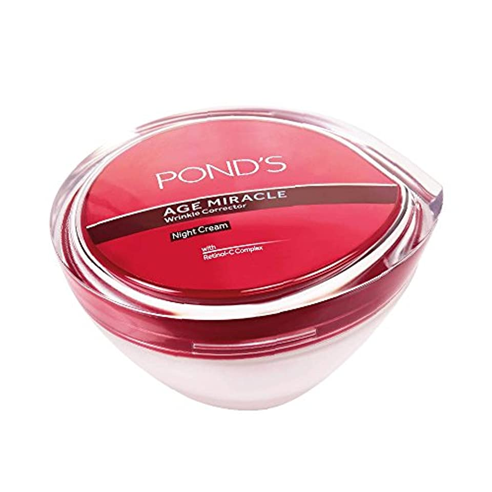 Ponds Age Miracle Wrinkle Corrector Night Cream, 50g