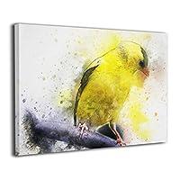 SDM-HK 鳥類 鳥 オウム 絵 絵画 パネル インテリア アート 壁掛け ポスター ART 雑貨 飾り グッズ 新築祝い プレゼント グッズ キャンバス フレーム アートフレーム White