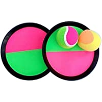 [ラウンド]クラシックキッズトスとキャッチボールゲームセットキャッチボールおもちゃセット