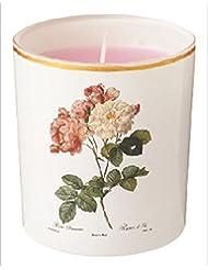 カメヤマキャンドル(kameyama candle) ルドゥーテ グラスキャンドル 「 クラシックローズ 」