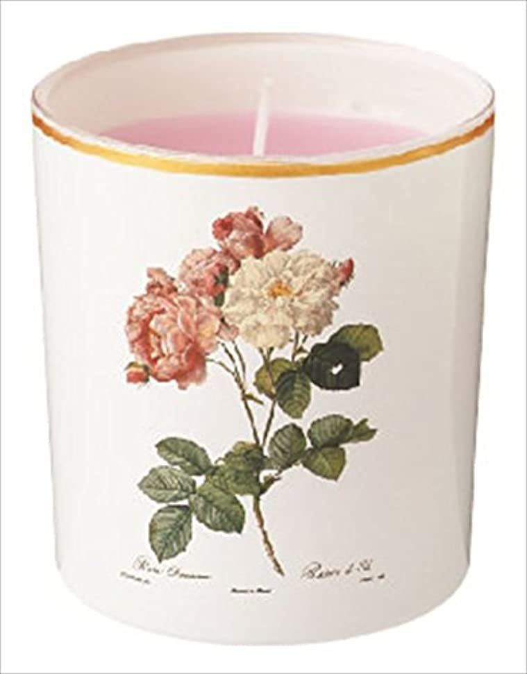天真実ブリードカメヤマキャンドル(kameyama candle) ルドゥーテ グラスキャンドル 「 クラシックローズ 」