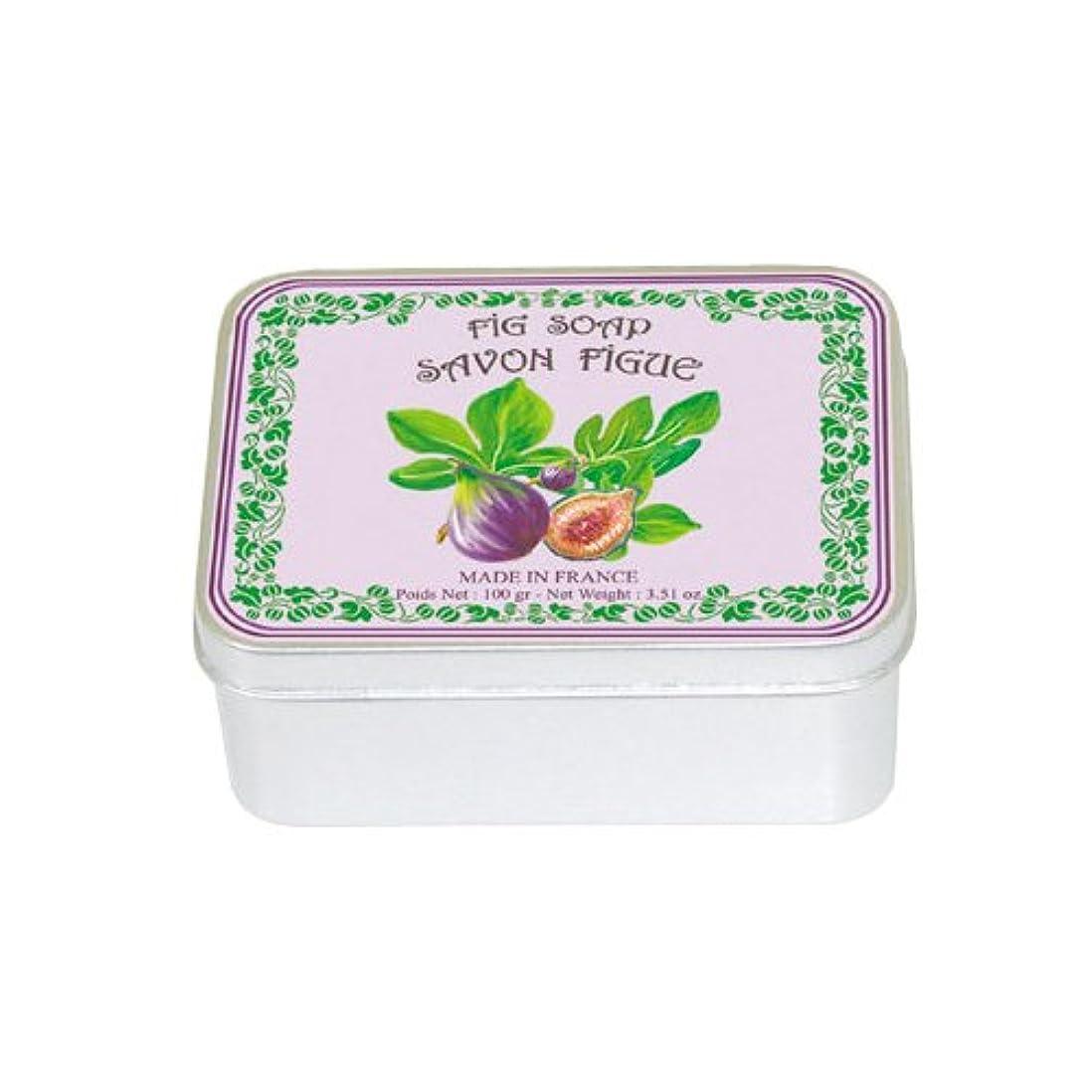 泥棒不忠予定ルブランソープ メタルボックス(イチジクの香り)石鹸