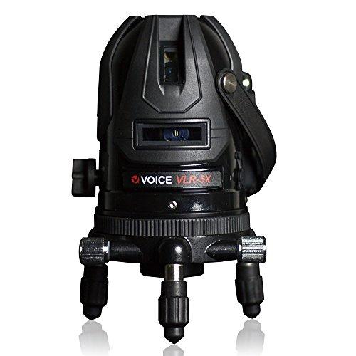 RoomClip商品情報 - VOICE 5ライン レーザー墨出し器 VLR-5X メーカー1年保証 4方向大矩照射モデル【標準セット】