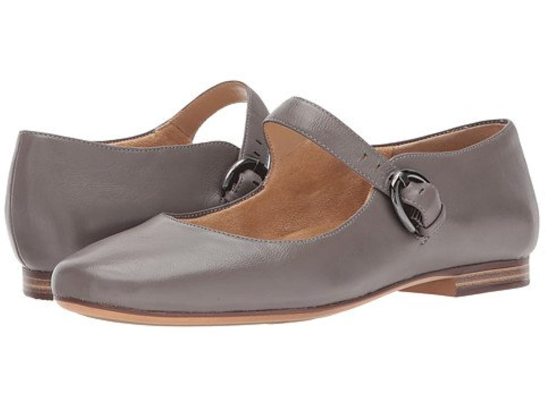 naturalizer ナチュラライザー レディースフラットシューズ?スリッポン?靴 Erica Modern Grey Leather 6.5 23.5cm W (C) [並行輸入品]